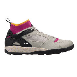 NIKE - Air Revaderchi - Granite/Black/Red Plum?