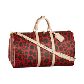 LOUIS VUITTON × 草間彌生 - Monogram Pumpkin Keepall Bandouliere55