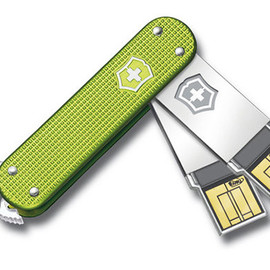 Swiss Army Slim USB Flash Drives