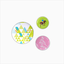 GROOVISIONS - Badge set A