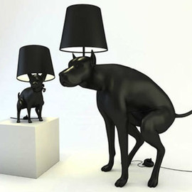 Whatshisname - 'Good Boy' and 'Good Puppy' Lamps