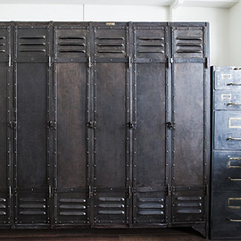 French Industrial Locker - METAL LOCKER