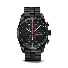 PORSCHE DESIGN - Chronotimer Series 1 - Black/Red