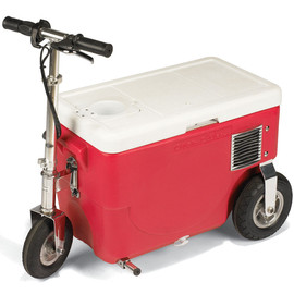 Cruzin' Cooler - Electric Rideable Cooler 13MPH