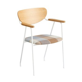IDEE - DJANGO ARM CHAIR White