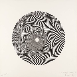 Bridget Riley - 'Blaze' 1964