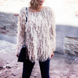 Free People - Free People Faithful Shaggy Cardigan