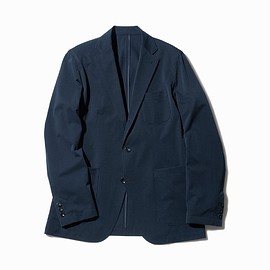 SOPHNET. - MOVE FIT STRETCH TWILL 3 BUTTON JACKET