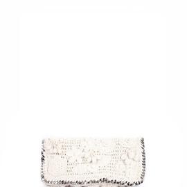 STELLA McCARTNEY - CROCHET FALABELLA SHOULDER BAG