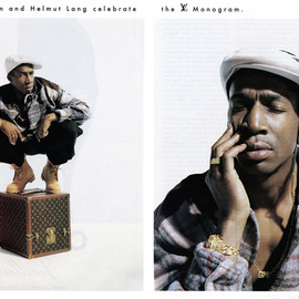 LOUIS VUITTON - Helmut Lang's Record Case presented by Legendary Grand Master Flash.