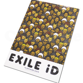 EXILE - A BATHING APE(エイプ)x EXILE iDモノグラム ポスター