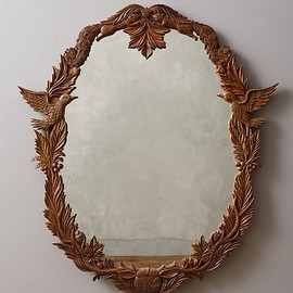 Anthropologie - Handcarved Menagerie Mirror