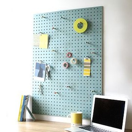 BLOCK - Pegboard With Wooden Pegs