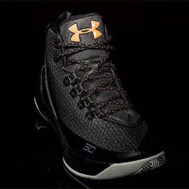 Under Armour - Curry 3 - Black/Gold