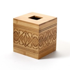 ACME Furniture - BAMBOO BASKET TISSUE HOLDER