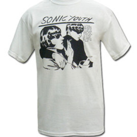 Sonic Youth - Sonic Youth T-Shirts White Goo T-shirt