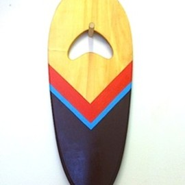 Hand Plane 2 - Shaped by Danny Hess - Painted by Jeff Canham