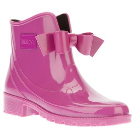 RED VALENTINO - bow ankle wellie