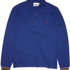 Fred Perry, Bradley Wiggins - Bradley Wiggins Collection: Long Sleeve Cycling Shirt