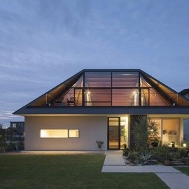 N/A - traditional folk style hip roof house in japan