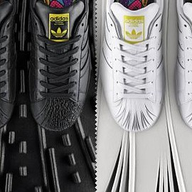 adidas originals - PHARRELL WILLIAMS × ADIDAS ORIGINALS SUPERSHELL SCULPTED COLLECTION