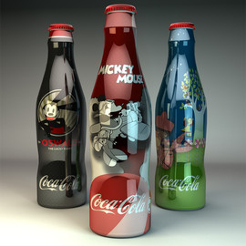 Coca Cola - Disney Coke Bottles