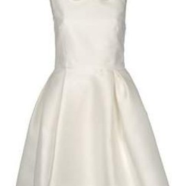 Rochas - ROCHAS short dress Ivory