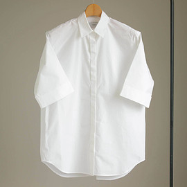 Graphpaper - Typewriter S/S Shirt #white