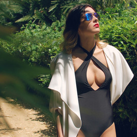 MOTEL - Motel Sunny Day Plunge Front Swimsuit
