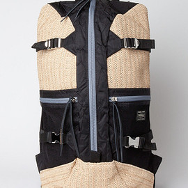 JW ANDERSON X PORTER - STRAW BACKPACK