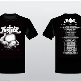 JUSTICE 2012 TOUR Tshirts