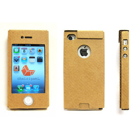 Chairigami - Cardboard iPhone Case
