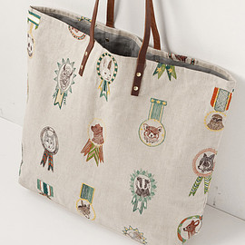 CORAL&TUSK - CORAL&TUSK TOTE BAG leather handles トートバッグ(451 champs pat)