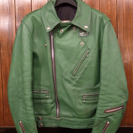 Lewis Leathers - 70's Cyclone / Green