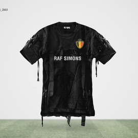 RAF SIMONS - BELGIUM Jersey(What if World Cup Jerseys were Designed by Famous Fashion Designers?)