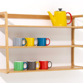 Kay+Stemmer - SCP Agnes Wall Mounted Shelves
