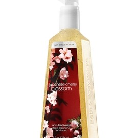 Bath & Body Works - Japanese Cherry Blossom Deep Cleansing Hand Soap - Anti-Bacterial - Bath & Body Works