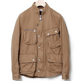 nonnative - RIDER JACKET - COTTON CHINO CLOTH