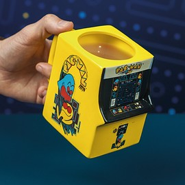 Pac-Man Shaped Mug
