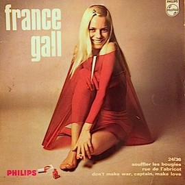 "FRANCE GALL - FRANCE GALL - 24/36 / Souffler Les Bougies  (7"")"