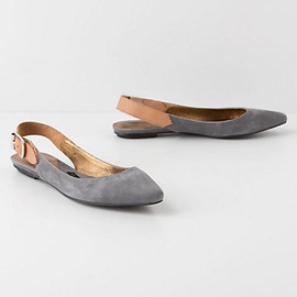 Anthropologie - Slingback Skimmers
