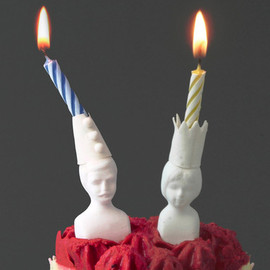 Luna & Curious - Mr & Mrs Jones Celebration Candle Holders