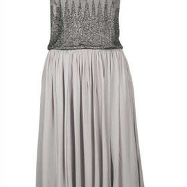 TOPSHOP - **LIMITED EDITION Embellished Drape Back Dress