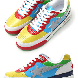 A BATHING APE - PATENT MULTI ROAD STA[スニーカー][シューズ]