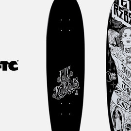 FTC - REBEL8 X FTC SKATEBOARD DECK
