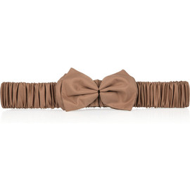BURBERRY PRORSUM - Silk bow belt