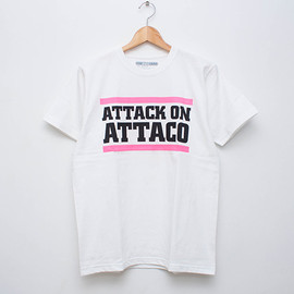 cup and cone - Attack on Attaco Tee - White