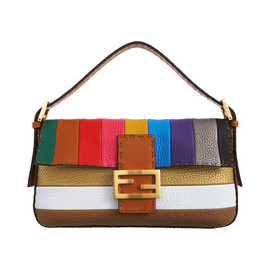 FENDI - Multi Striped Baguette in Multicolor