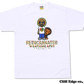 A BATHING APE - SNOOP LION MILO TEE