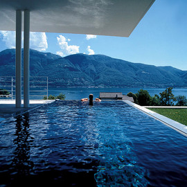Cubic Villa at Lake Maggiore, Italy  - Swimming Pool